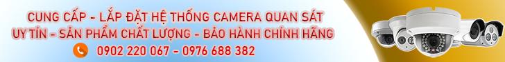 Lắp đặt camera uy tín giá rẻ